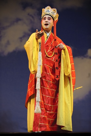 cassock: The famous chinese opera Monkey King : Flaming Mountain performed by Sichuan Opera Theater at Arts Academy theater of Sichuan Jul 23, 2010 in Chengdu, China. Editorial