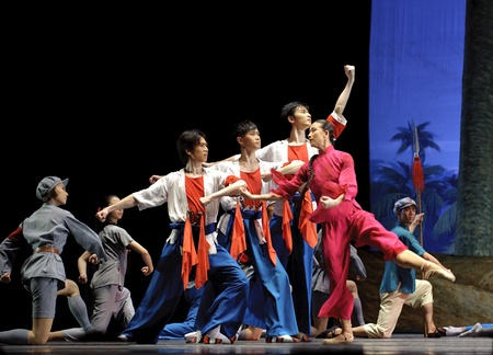 The famous chinese ballet