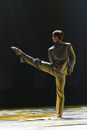 CHENGDU - DEC 9: Beijing Dance Academy perform chinese Solo dance