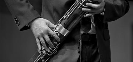 fagot: fagocista na chamber music Zdjęcie Seryjne