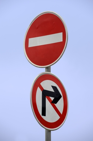 conspicuous: conspicuous traffic signs