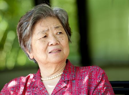 a senior woman