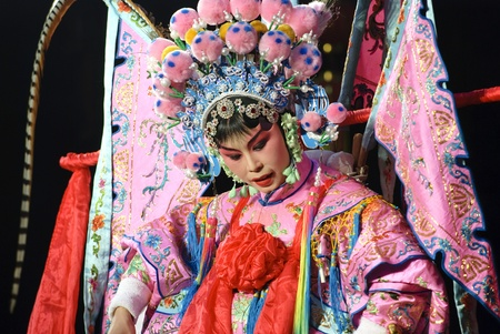 actress: Chinese traditional opera actress