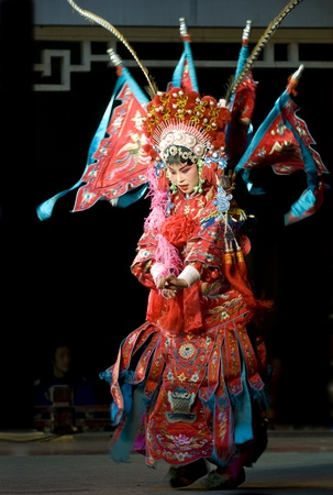 Chinese traditional opera actress photo