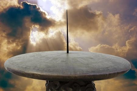 cadran solaire: cadran solaire chinois