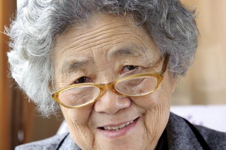 happy grandmother Zdjęcie Seryjne