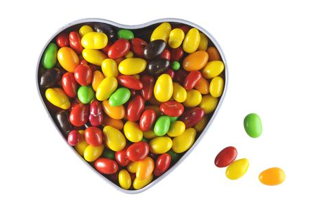 bonbonniere: bonbonniere and colorful chocolate candies