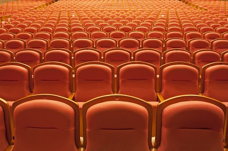 auditorium: theater seats