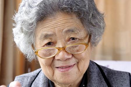 happy grandmother photo
