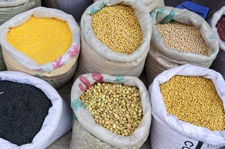 beans market  photo