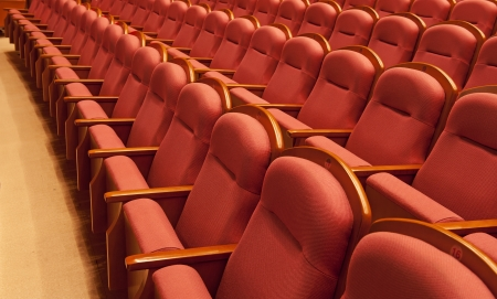 concert hall: theater seats
