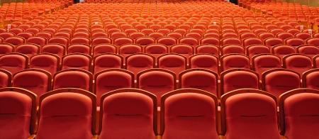 asiento: los asientos del teatro