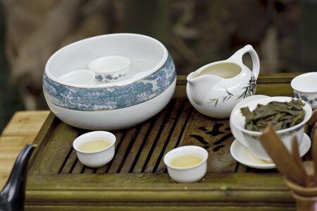tea service: chinese traditional tea service