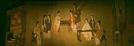chinese traditional fresco Stock Photo - 12679436
