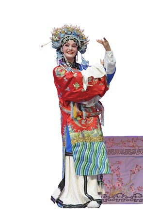 pretty chinese chinese traditional opera actress Banque d'images