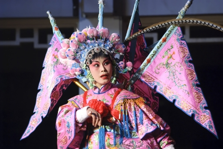 Chinese traditional opera actress photo