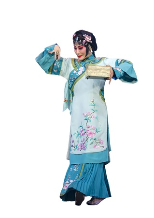 elegancy: pretty chinese traditional opera actress