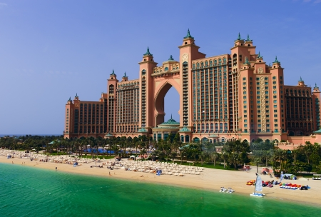 The exterior of Atlantis The Palm