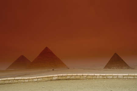 grand Pyramid of Giza photo
