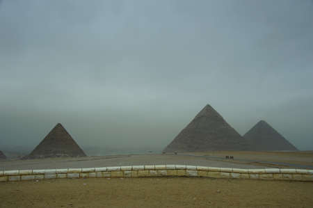 ancient grand Pyramid in Giza,Egypt photo