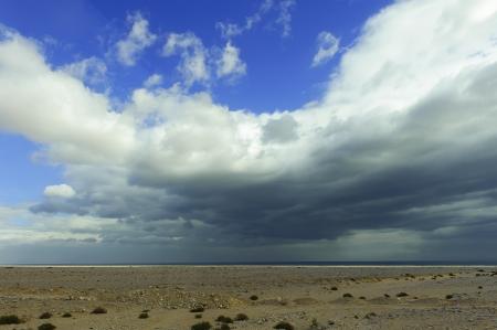 cirrus: cirrus spissatus cloud over the Suez Canal