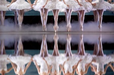bolantes: piernas de bailarina