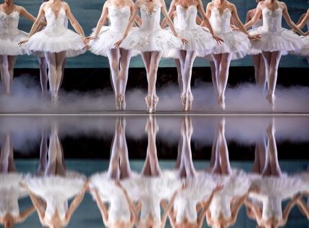 danseuse: jambes de ballerine Banque d'images