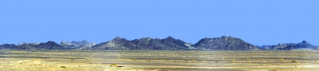 gobi desert: hills in the Gobi Desert Stock Photo