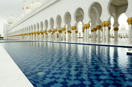 pool of Grand Mosque photo