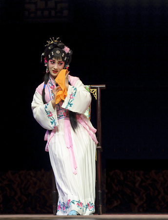 pretty chinese traditional opera actress photo