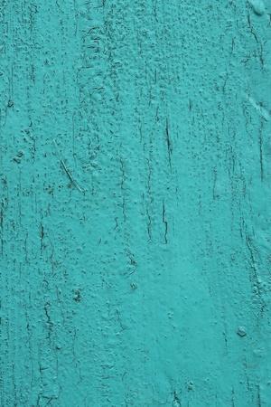 desigualdad: Superficie de madera vieja pintada en brillante aguamarina Foto de archivo