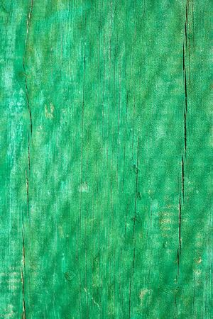 Shadow of grid on the old ragged wooden plank painted in green Stock Photo - 13068454
