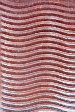 washboard: Old rusty metal washboard as a texture