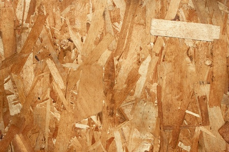 Wooden texture. Small pieces various thin plywood glued together as a monolithic board photo