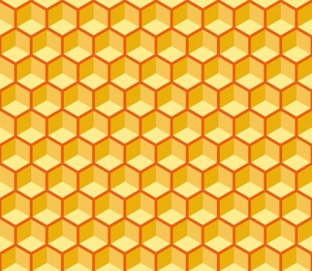 peri�dico: Seamless hexagonal textura c