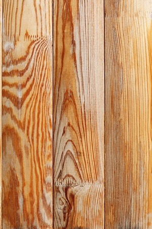 lacquered: Shield with lacquered vertical wooden planks as texture Stock Photo