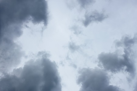 tragic: Grey and bluish tragic cloudscape with various density chaotic clouds