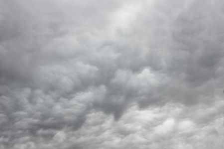 chaotic: Grey majestic cloudscape with various density chaotic thunderclouds