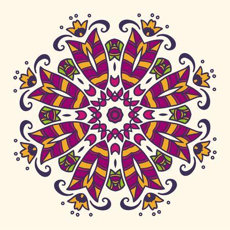 ahogarse: Patr�n de la mano se ahoga Ronda. Colorida ilustraci�n vectorial. Vectores