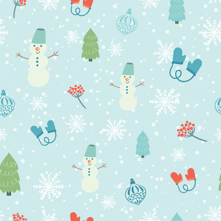 christmas backdrop: Christmas decoration background. Vector illustration with decorative elements. Merry Christmas theme.