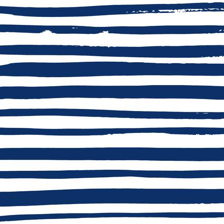 Grunge blauen und weißen Streifen. Vektor Design-Muster. Gestreiften Hintergrund.