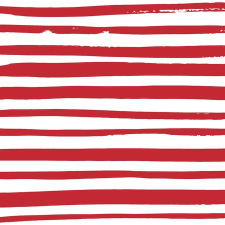 그런 지 빨간색과 흰색 줄무늬입니다. 벡터 패턴 디자인입니다. 줄무늬 배경입니다. 일러스트