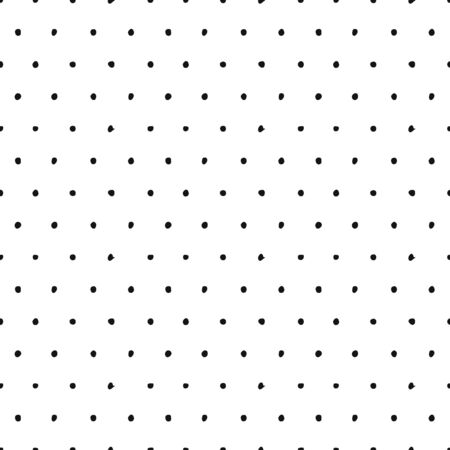 Seamless grunge vector pattern. Hand drawn background in sketch style. Paint with brush.