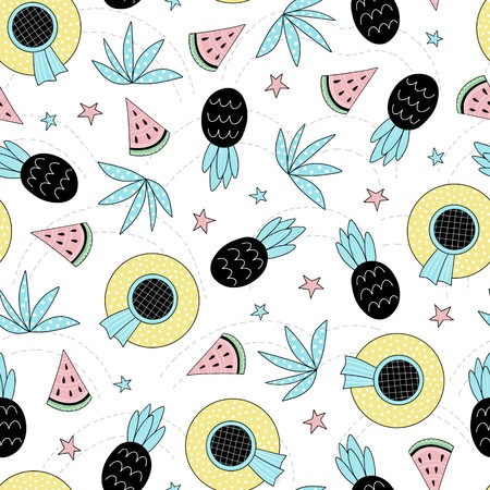 Seamless summer pattern