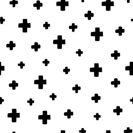 원활한 스 칸디 나 비아 패턴입니다. 다른 요소와 벡터 아이 배경입니다. 지문, 셔츠 및 포스터 디자인.