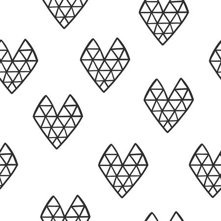 ハートパターン 写真素材 - 93699904