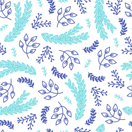 シームレスな居心地の良いスカンジナビアパターン。異なる要素を持つベクトル背景。プリント、シャツ、ポスターのデザイン。 写真素材 - 94181744