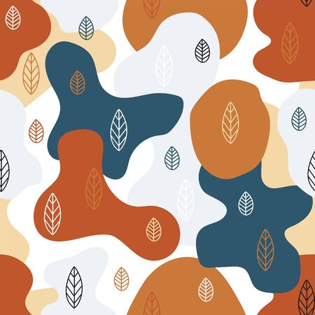 Natural seamless pattern.