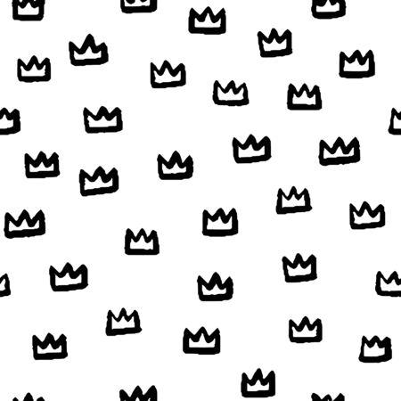 Hand drawn seamless pattern. 向量圖像