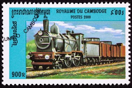 perforated: Old Railroad Steam Engine Locomotive.